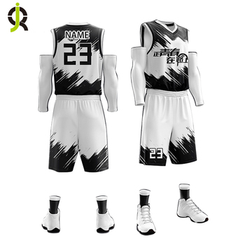 8c72ef32497 Wholesale Latest Custom College Cheap Basketball Clothing Set Sublimation  Printing Reversible Basketball Jersey Uniform Design