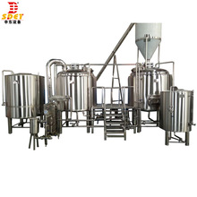 automated commercial 1000l brewing system beer making plant kit