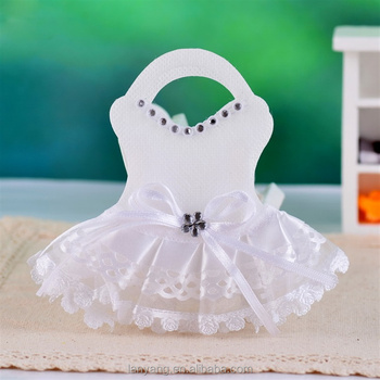 Baby Shower Favors Bag Wedding Dress Design Candy Bag Fashion Bags