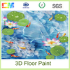 Best price easy to construction super adhesion 3d liquid resin epoxy floors paint