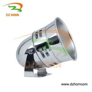 Grey/ Chrome color tornado alarm horn /truck alarm