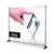 Exhibition adjustable backdrop stand for advertising display