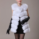 Chinese Wholesale Style New Women's Real Fox Fur Vest
