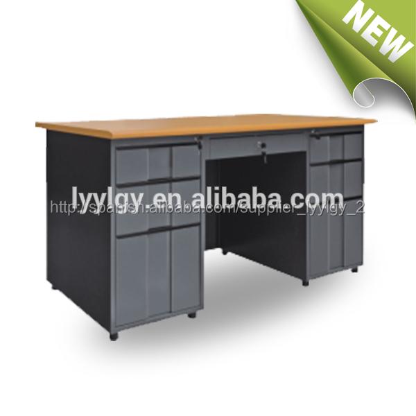 la mejor oficina de marco de metal escritorio de la computadora modelos euloong moderno mobiliario