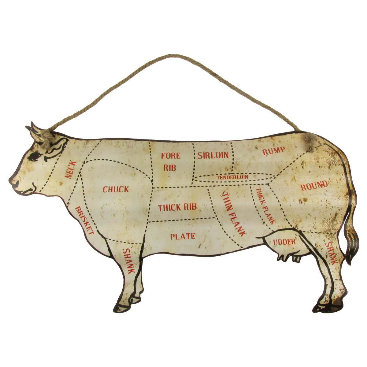 Cheap butcher cuts beef find butcher cuts beef deals on line at large 30 cattle beef cuts butcher shop chart sign diagram home bbq wall decor pooptronica