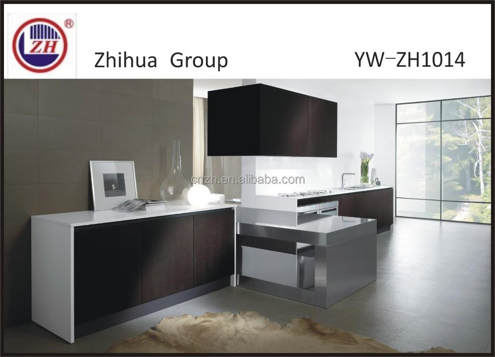 Chocolate o blanco con adornos de metal laminado mueble cocina ...