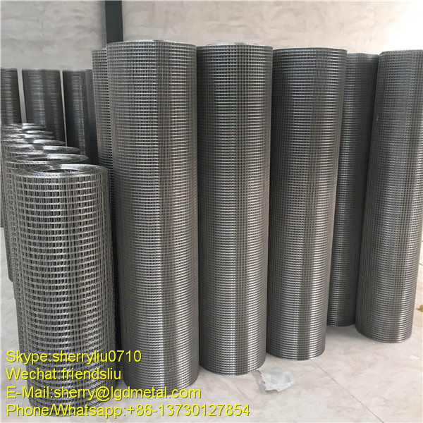 Pvc Coated 5x5 Galvanized Welded Wire Mesh Fence Home Depot ...