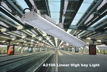 20M height installation UL,DLC standard 150w led linear 60dgree high bay lighting with 120lm/w