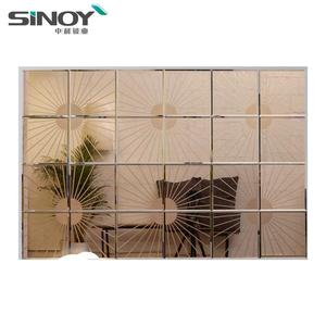 2019 New Style Fancy Colored Mirror For Home Wall Decoration