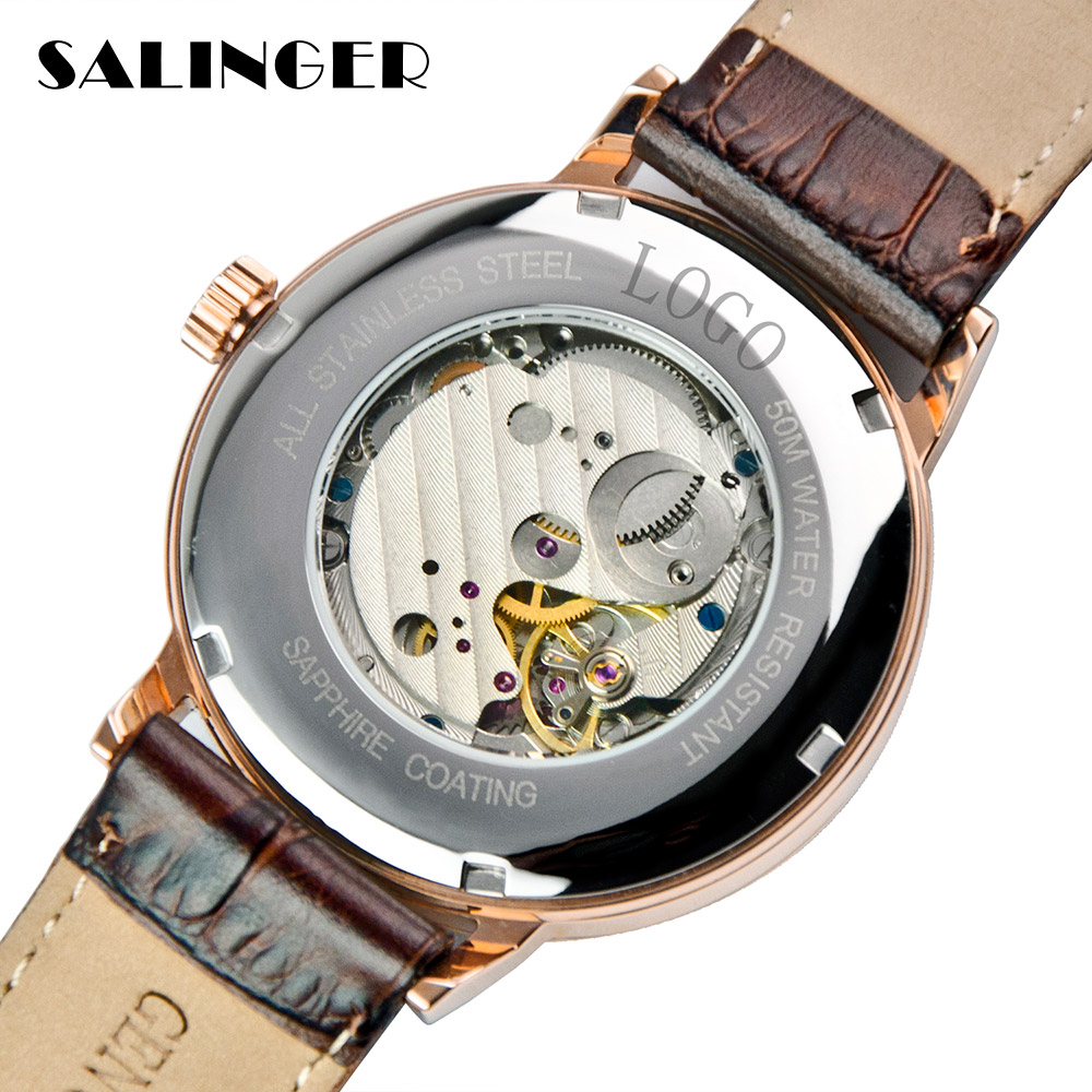 Hot Selling Nice Stainless Steel White Couple Watch Mechanical For Souvenirs
