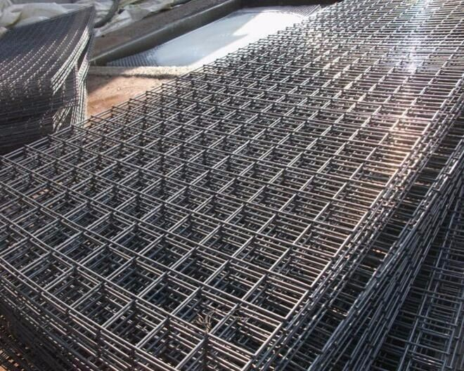 Rolls In Cement : Concrete reinforcing roll galvanized welded wire mesh for