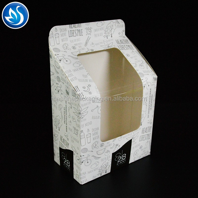 Lovely Sweet Cake Paper Box With Transparent Windows