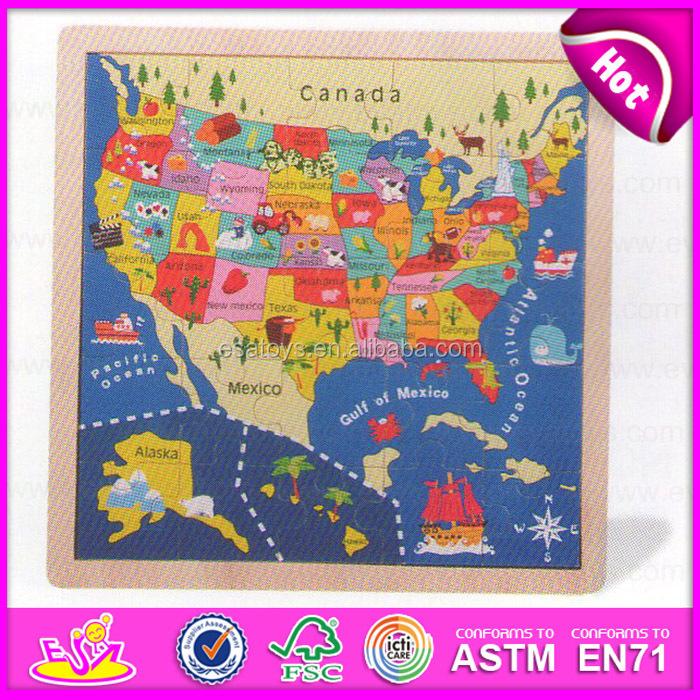 Educational kids world map puzzlechildren diy map jigsaw puzzle w14c141g gumiabroncs Images