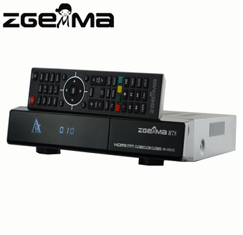 4k Uhd Zgemma H7s Satellite Receiver Stalker Plugin Insided Combo  2*dvb-s2x+ Dvb-t2/c Iptv Set Top Box - Buy Zgemma 4k Satellite  Receiver,Zgemma