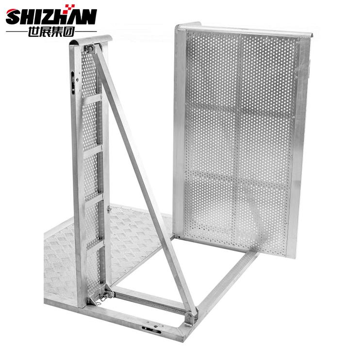 aluminum barriers (3)