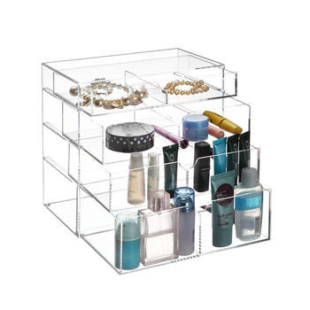 China Suppliers Acrylic Display Riser Makeup Organizer Holder ...