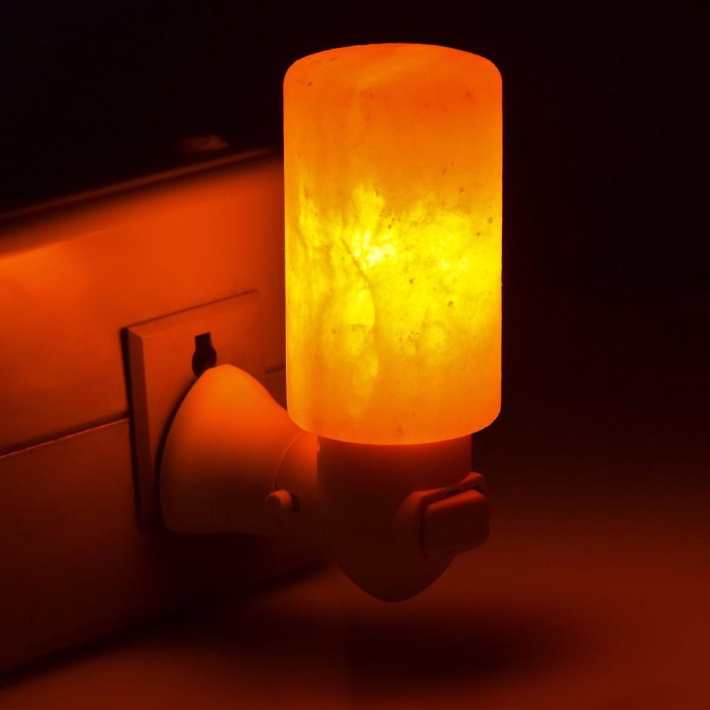 2019 Natural Himalayan Wall Salt Night Light Nursery Lamp