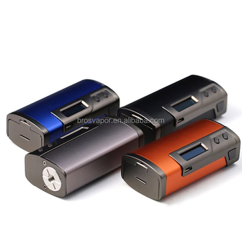 Authentic Sigelei Fuchai 213W TC VW 2 x 18650 Black APV Box Mod from brosvapor