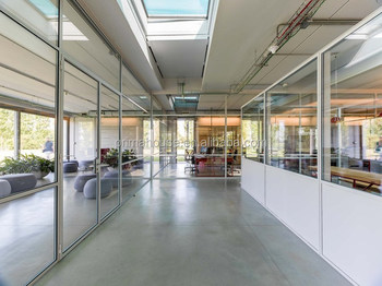 office low glass wall partitions cheap used