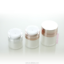 Parel wit rose gold hoge kwaliteit acryl 50 ml <span class=keywords><strong>airless</strong></span> <span class=keywords><strong>pot</strong></span>