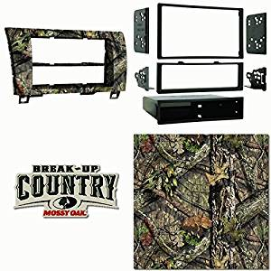 Metra MOBU-99-8220 Single DIN Dash Kit For Toyota Tundra 2007-13 & Sequoia 08-Up Painted Mossy Oak Camo