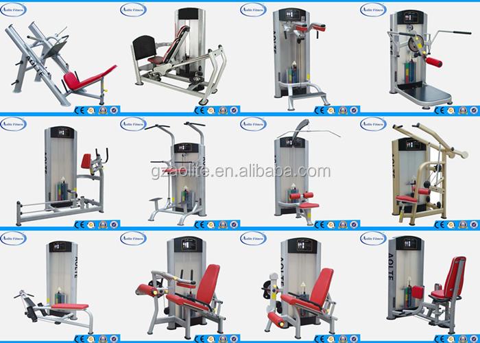 workout machine names