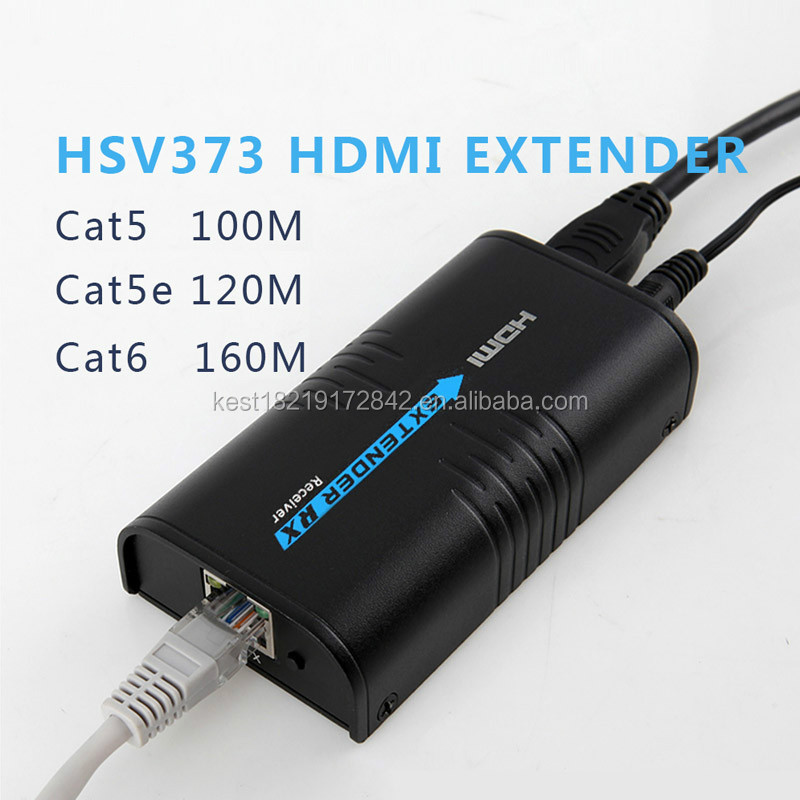 HDMI Network Cable Extender Over Single Cable 120M rj45 hdmi extender 100m