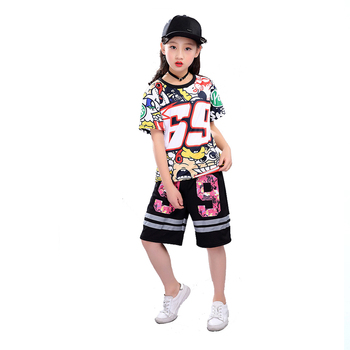 Colorful Unibest Kids Hip Hop Rapper Costume
