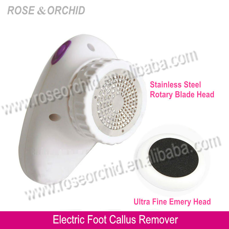 RO-1025 Foot Callus Remover Tool Professional Electric Callus Cutter and Remover