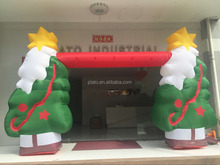 NEW design !! large Christmas tree arch inflatable ,high quality inflatable christmas decoration