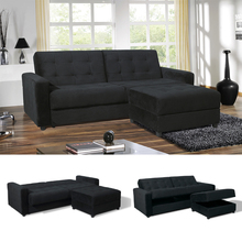 Hot selling living room furniture folding sofa bed with storage