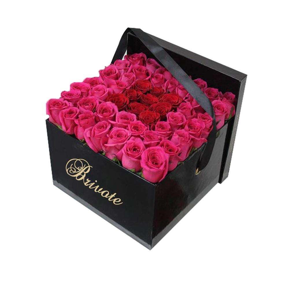 Valentines Bouquet Waterproof Flower Boxes - Buy Bouquet Flower Box ...