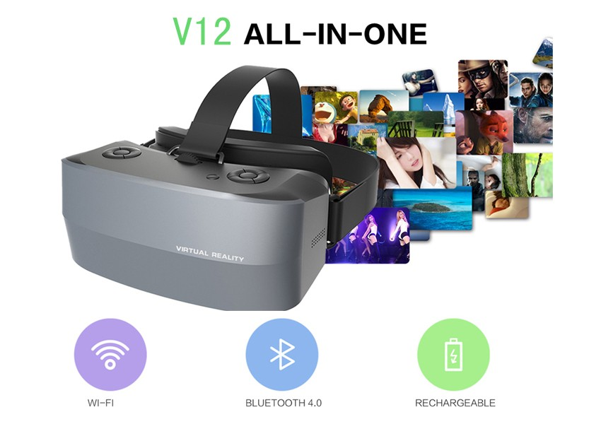 2016 best unique christmas gifts android wifi vr headset for gaming