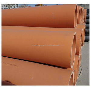 ISO 4427 SDR 13.6 PN 12.5 6 inch 160mm Diameter HDPE Water Supply Pipe