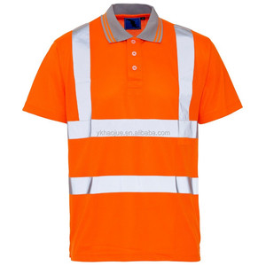 Hi Vis Bird Eye Polo safety t Shirt