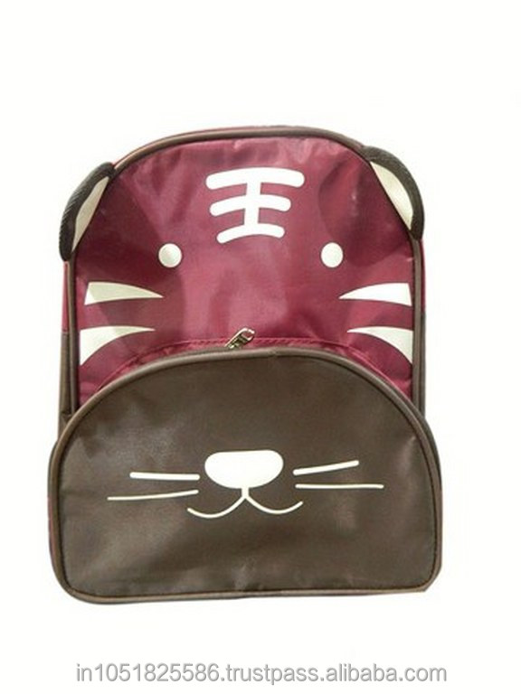 tiger backpack Brown