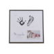 baby handprint and footprint frame baby footprints ink baby hand and footprints fingerprints full moon hundred days of gifts