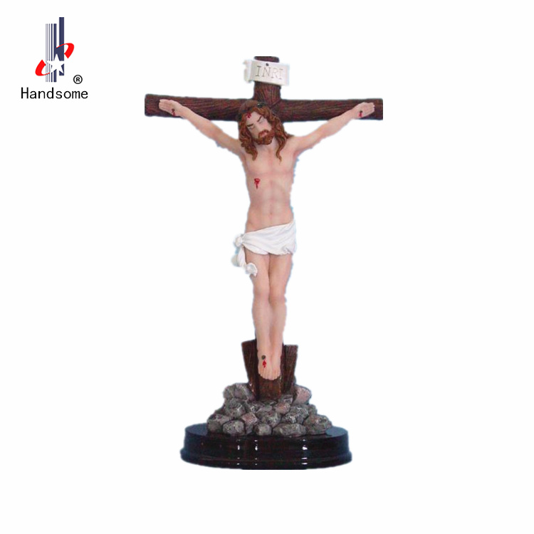 Hand Carved Jesus Statue Souvenirs For Sale