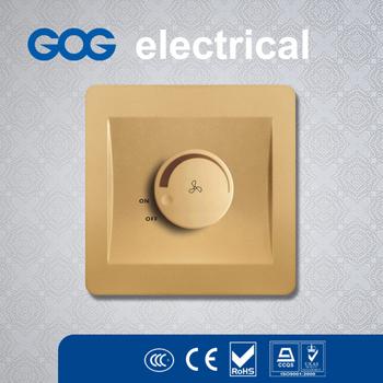 dubai popular 5 speed ceiling fan switch light dimmer wall switch - Ceiling Fan Switch