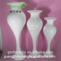SJLJ013323 high quality flower pot and vase for wedding decoration