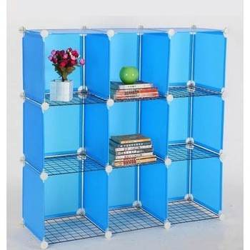 Merveilleux Mix Assemble Metal And Plastic Wall Mounted Stacking Wire Storage Cubes