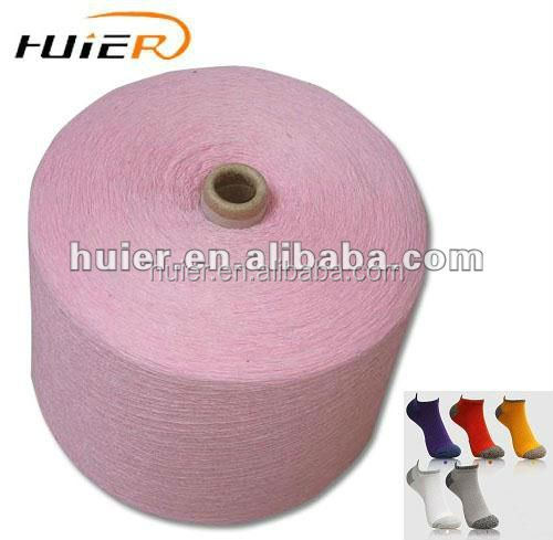 Open end recycled color cotton yarn for sock