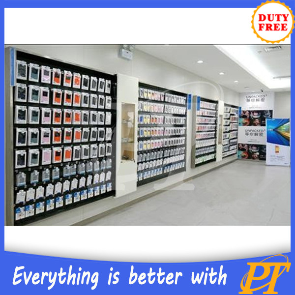 Mobile phone shop decoration phone shop furniture phone for Shop decoration items