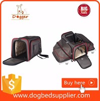Expandable Foldable Washable Dog Travel Carrier, Airline Approved Pet Carrier Soft-sided
