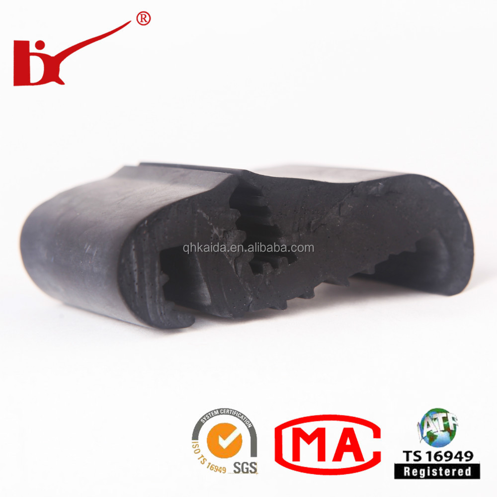 high quality epdm extrusion car door window rubber sealing products