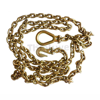 Factory Price G70 G80 Lashing Chain with Hook