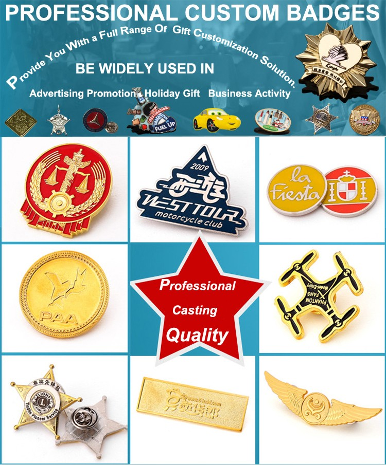 Wholesale Promotional Products China Fox Sports Lapel Pin