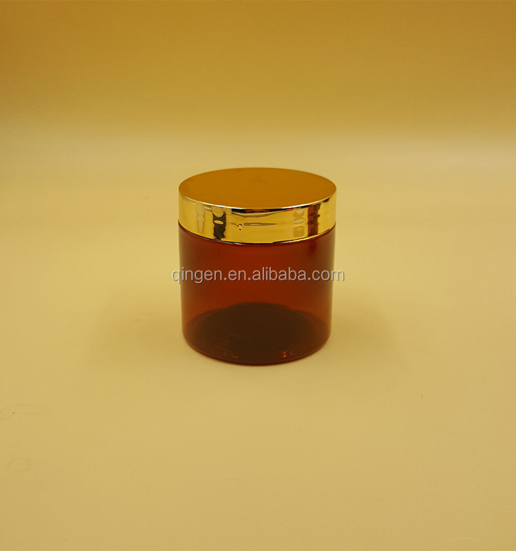 plastic jar for cosmetic 100ml plastic cream jar only one layer singel wall