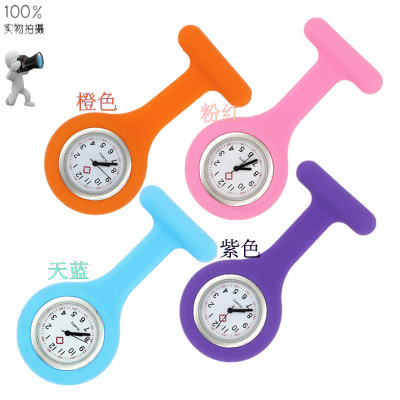 2017 NEW <strong>Hot</strong> Seller Fashion <strong>Hot</strong> Silicone Nurse Watch With Pin Plastic Shell
