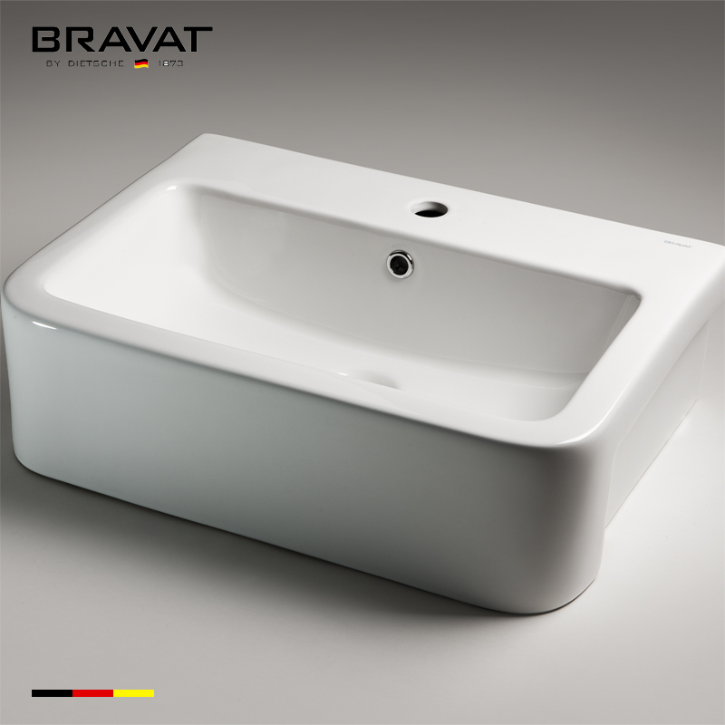 aolid surface basin Modern design No blockages